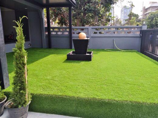 ไอเดียแต่งบ้านด้วยหญ้าเทียม