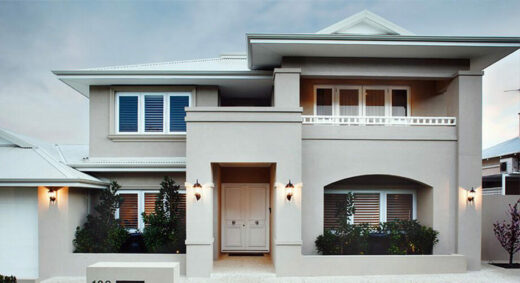 contemporary style house