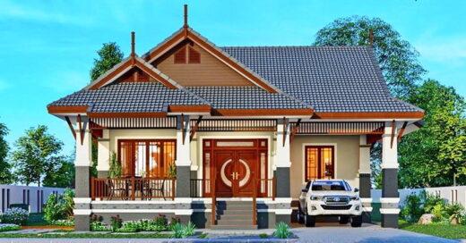 Applied Thai style house